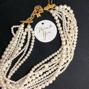 Exquisite ✨ Carolee Statement VTG Pearl Necklace